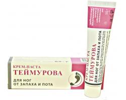 Крем-паста ТЕЙМУРОВА для ног от запаха и пота